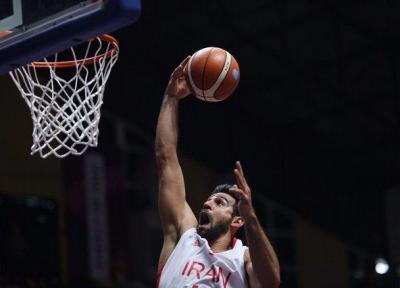 خبر خوب برای تیم ملی بسکتبال، ارسلان کاظمی به دیدار برابر کره جنوبی می رسد