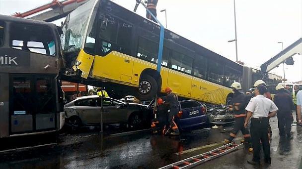 تصادف اتوبوس در ترکیه 6 کشته برجا گذاشت