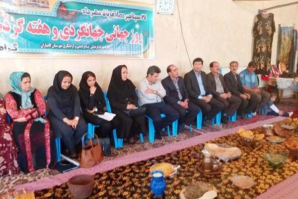 جشنواره غذاهای محلی و نمایشگاه صنایع دستی در روستای لون سادات کامیاران برگزار گردید