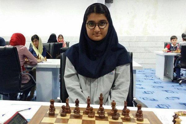تساوی مبینا علی نسب در دور سوم مسابقات شطرنج قهرمانی دنیا