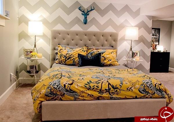 کدام کاغذ دیواری برای اتاق خواب مناسب است؟