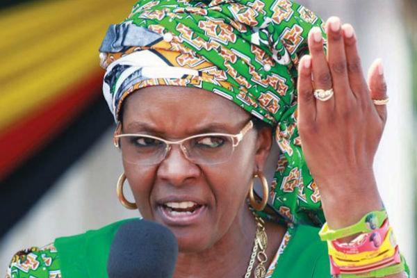 حکم بازداشت همسر رئیس جمهوری پیشین زیمبابوه صادر شد
