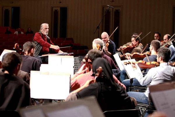 شروع تمرین های ارکستر سمفونیک تهران با بازیگران هفت شهر عشق