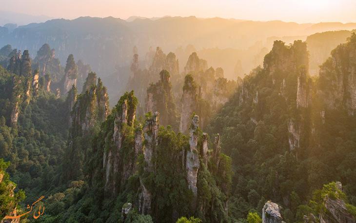 آشنایی با پارک ژانگ جیاجی چین