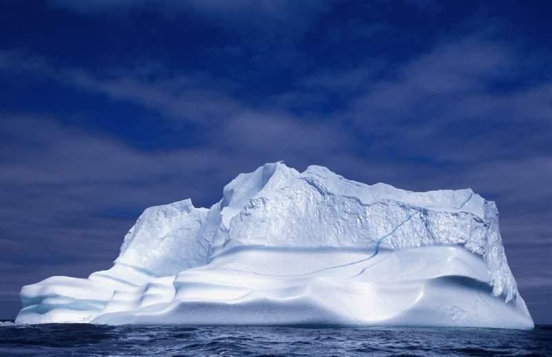دانستنی های کوه های یخی کانادا