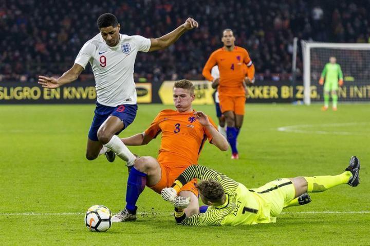 لیگ ملت های اروپا؛ هلند 3 - انگلیس 1 ، کامبک فوق العاده پسران سرزمین لاله های نارنجی ، ناکامی دیگر سه شیر ها در نیمه نهایی