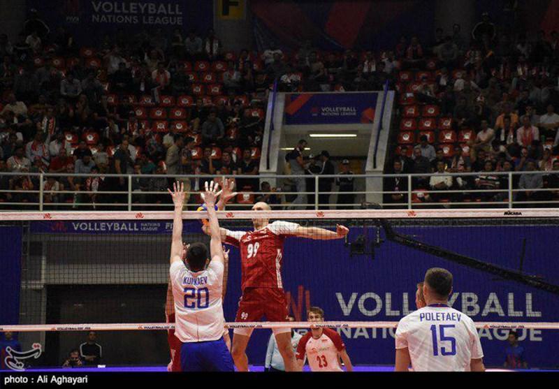 لیگ ملت های والیبال ـ ارومیه ، کاپیتان تیم ملی روسیه : بازی قابل قبولی مقابل کانادا ارائه کردیم