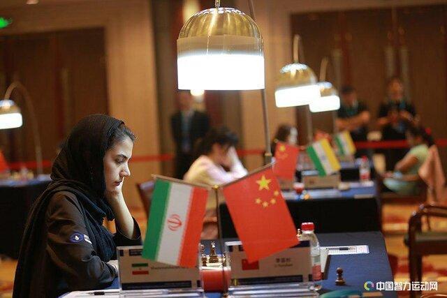 تساوی خادم الشریعه مقابل قهرمان چینی در مسابقات آزاد چین