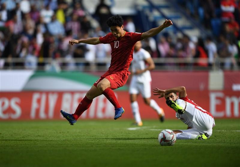 جام ملت های آسیا، پیروزی یک نیمه ای اردن برابر ویتنام