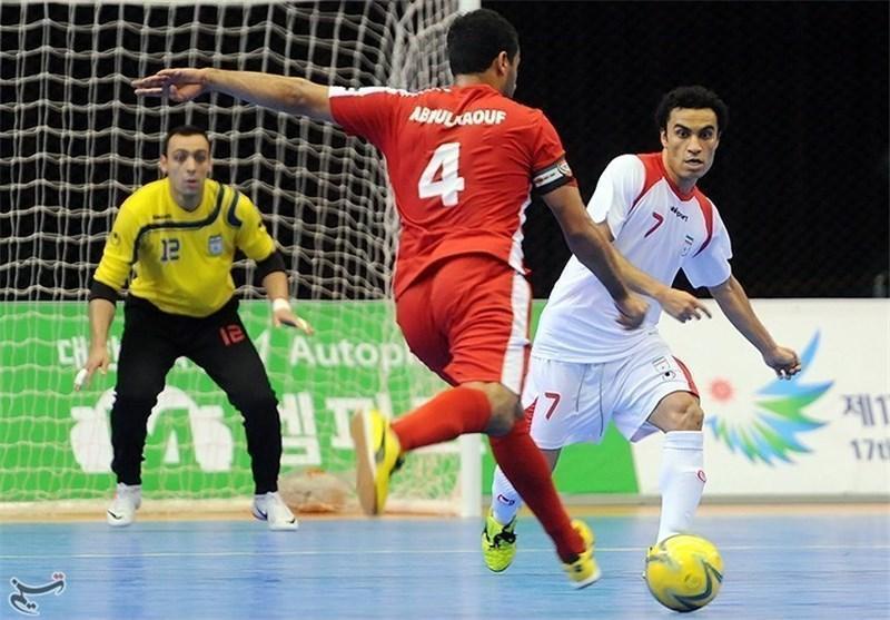 گلزنی فوتسالیست قمی برابر تیم ملی فوتسال اندونزی
