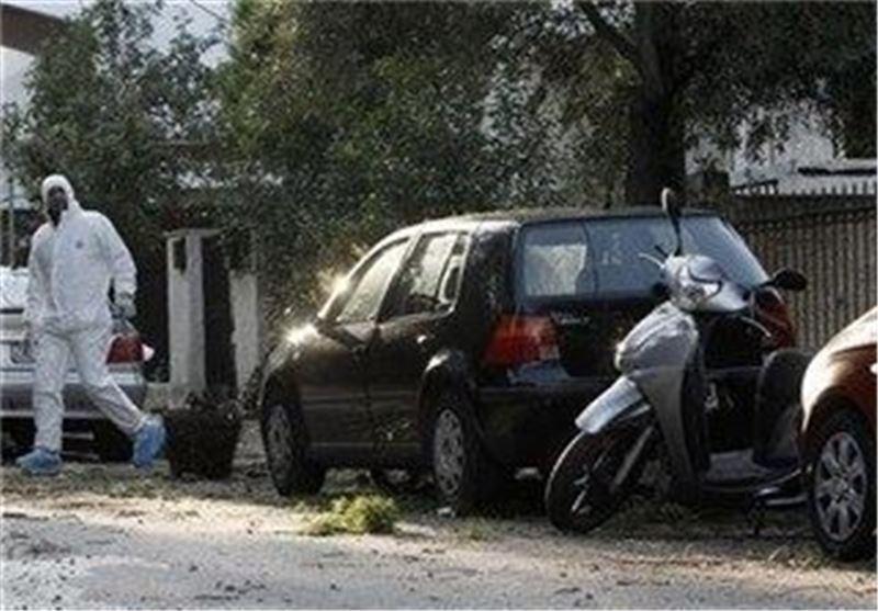 انفجار بمب در مقابل خانه دادستان یونان