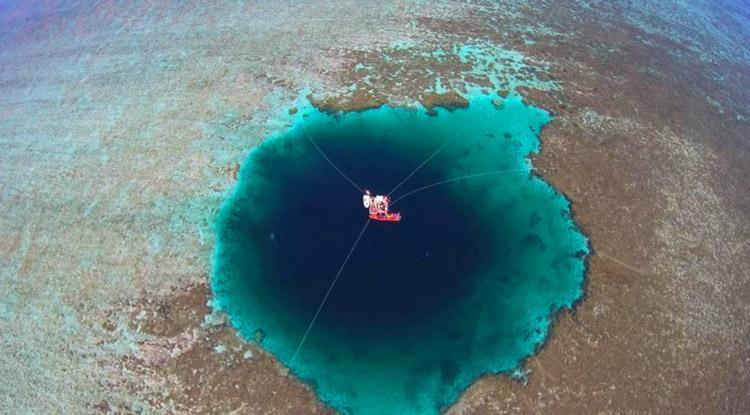چین و کشف عمیق ترین حفره دنیا حفره اژدها