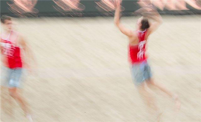 پیروزی والیبالیست های ساحلی ایران برابر تایلند