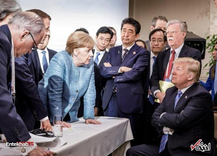 تشدید جنگ اروپا و آمریکا در جو خشونت آمیز کانادا ، ایران؛ میدانی که هیچ یک از دو طرف حاضر به کوتاه آمدن از آن نیستند ، آیا قصد ترامپ منفجر کردن گروه 7 است؟