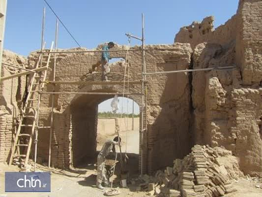 قلعه تاریخی همت آباد در یزد مرمت شد