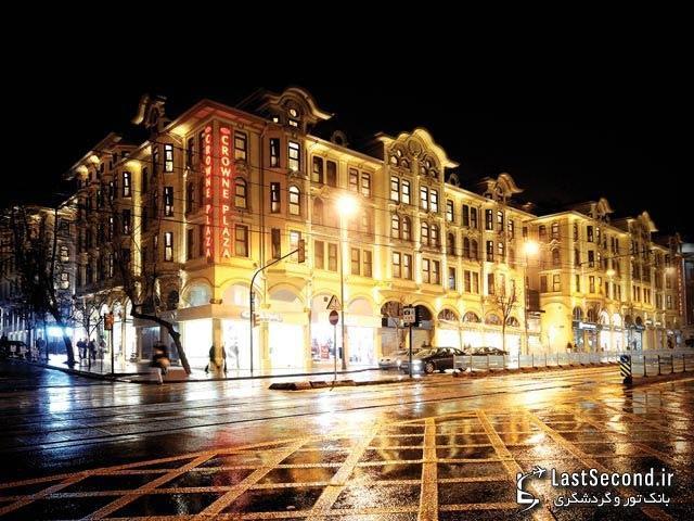 هتل کرون پلازا، استانبول