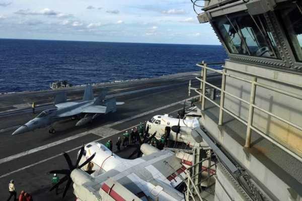 الحاق ناو هسته ای آمریکا به بزرگترین رزمایش نظامی ژاپن