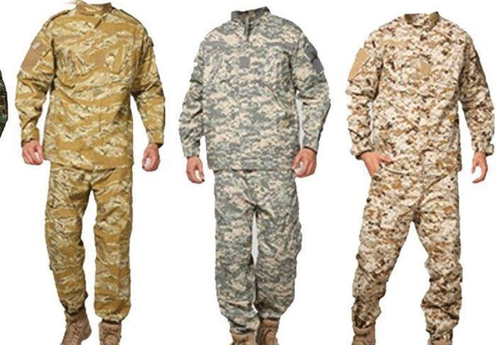 فراوری لباس نظامیان عراقی در اصفهان