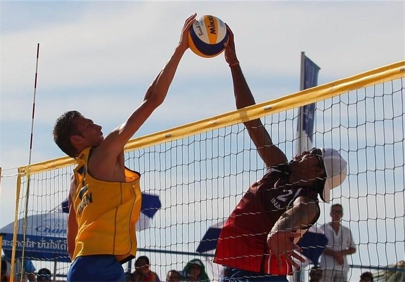 تیم ملی والیبال ساحلی از راهیابی به جمع 4 تیم برتر باز ماند