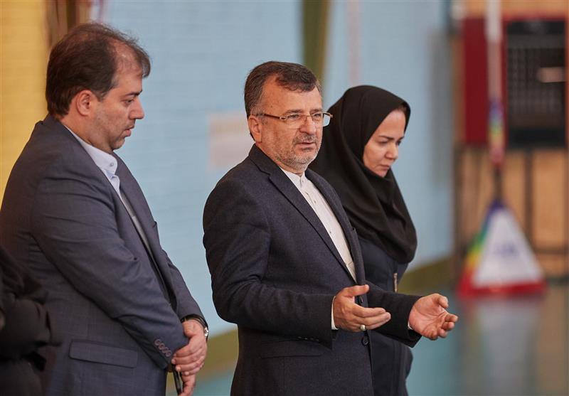 دیدار داورزنی با بانوان ملی پوش والیبال ایران
