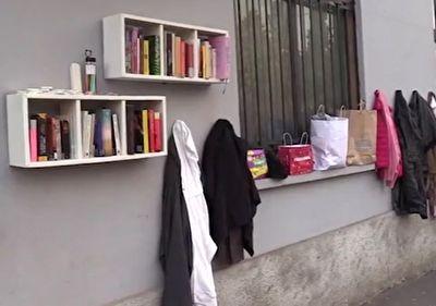 الگو دریافت ایتالیایی ها از دیوار مهربانی ایرانیان