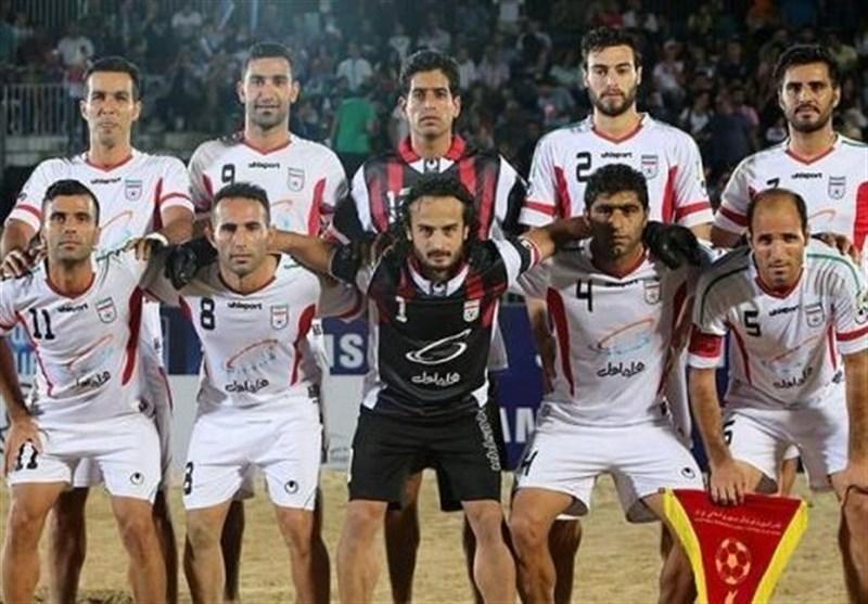 سه تیم اروپایی فوتبال ساحلی در پرشین کاپ، مصاف ایران با ایتالیا، لهستان و اوکراین