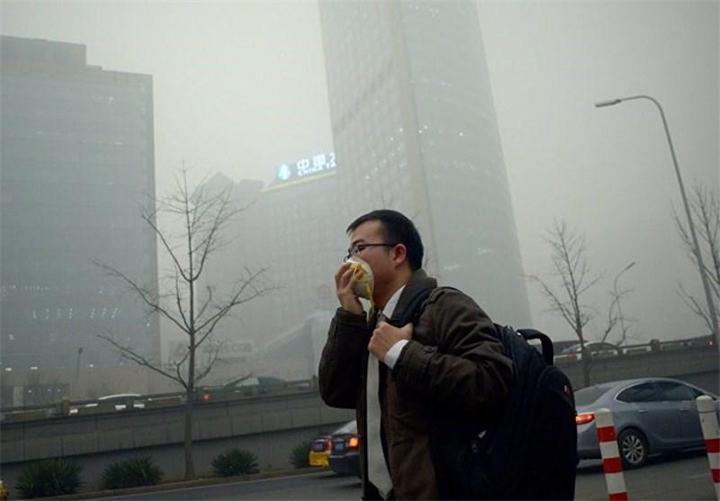 لغو 220 پرواز در چین به دلیل آلودگی شدید هوا