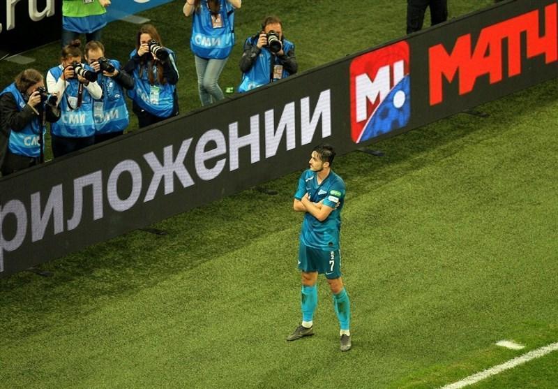 رتبه سوم سردار آزمون در رده بندی برترین ورزشکار خارجی سال 2019 روسیه