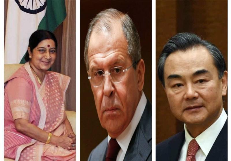 نشست 3 جانبه مسکو؛ وزرای خارجه روسیه، چین و هند در خصوص افغانستان گفت وگو می نمایند
