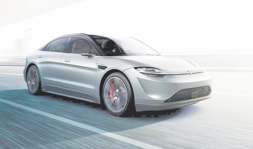 سونی یک خودروی مفهومی برقی عرضه کرد