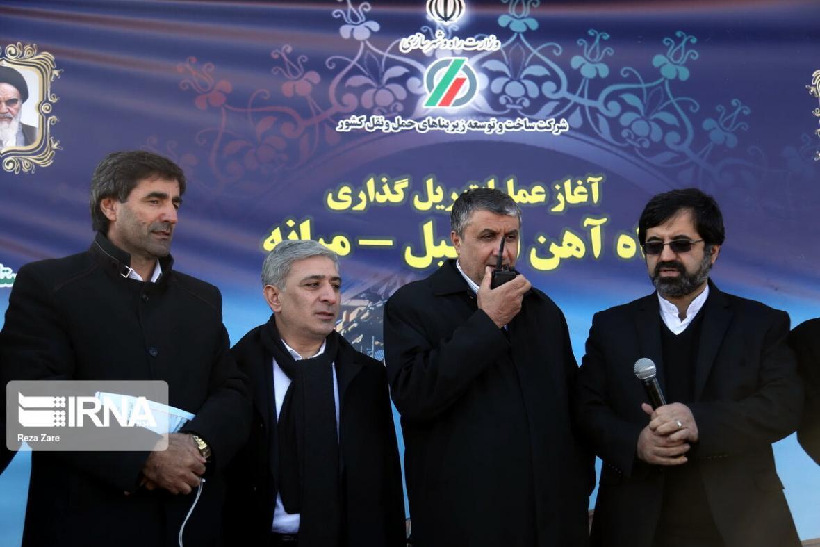 خبرنگاران اعتبار اقتصادی تامین مصالح سه ماهه پروژه راه آهن اردبیل-میانه تخصیص یافت