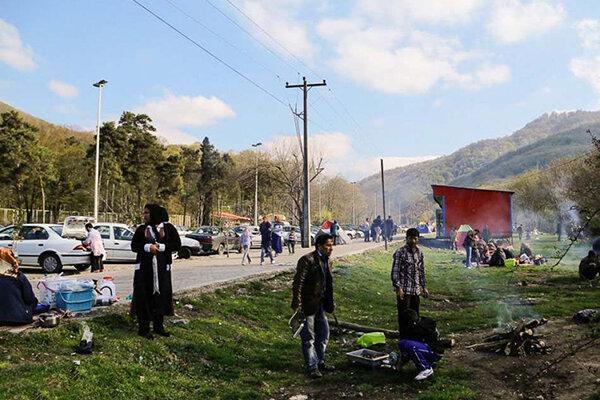 شیوع کرونا حضور مردم در تفرجگاه های گلستان را ممنوع نمود