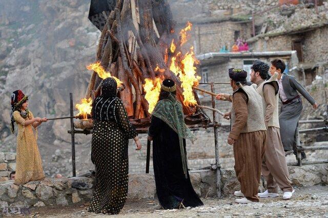 چهارشنبه سوری بدون سرخی آتش