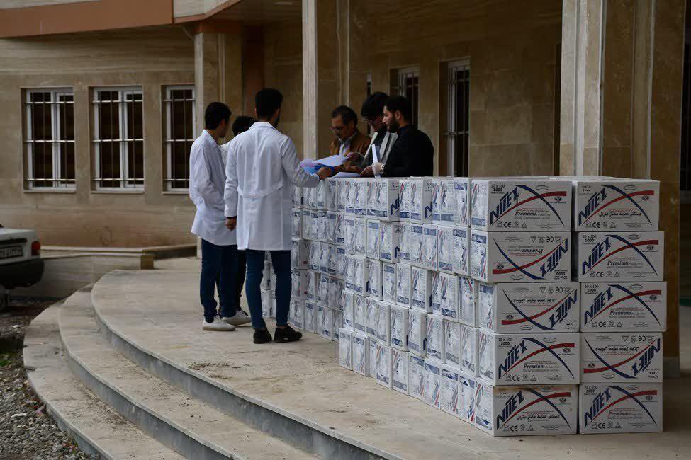 خبرنگاران توزیع اقلام بهداشتی در آذربایجان غربی به روایت آمار