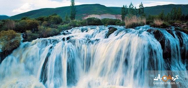 آبشار مرادیه؛ طبیعت بهشتی در وان ترکیه، عکس