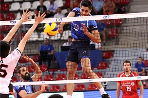تیم ملی والیبال ایران ست اول را به کانادا باخت