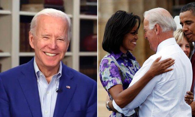بایدن: دوست دارم میشل اوباما معاونم باشد