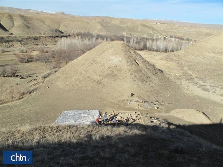 کشف محوطه اشکانی در کاوش های نجات بخشی سد مراش زنجان