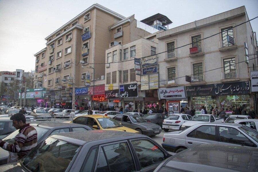 معابر شهری کرمانشاه جوابگوی وسایل نقلیه نیست