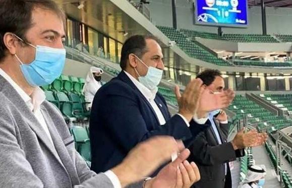 سرپرست باشگاه پرسپولیس از قطر برگشت