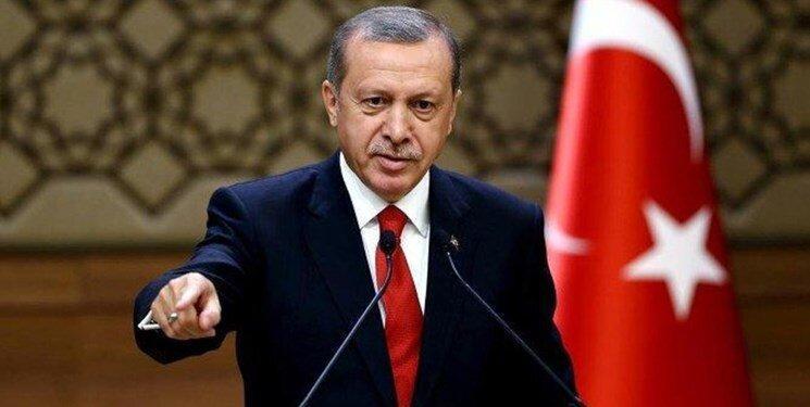 اردوغان: اجازه نمی دهیم کسی در مدیترانه قلدری کند