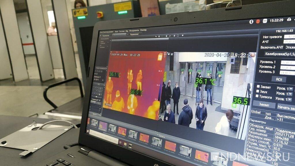 دوربین حرارتی تشخیص مبتلایان کرونا دراماکن عمومی ساخته شد