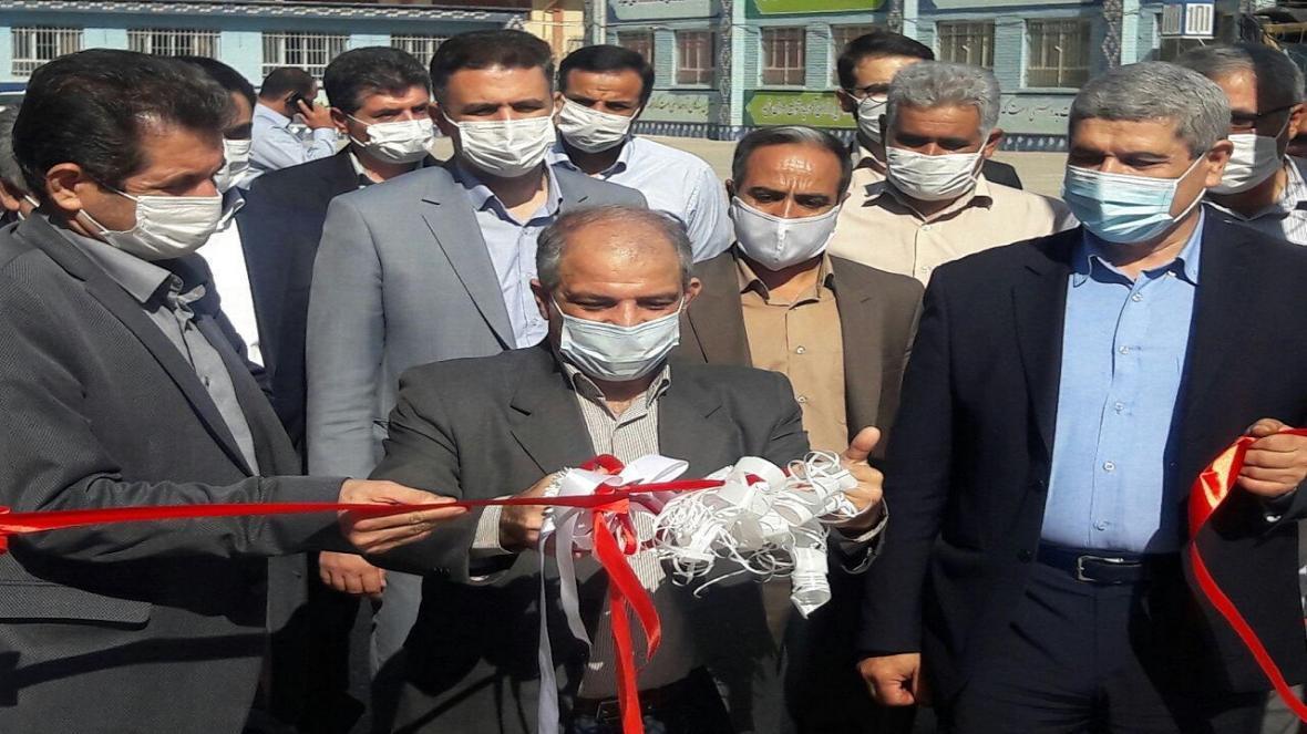 افتتاح زمین چمن مصنوعی با حضور معاون تربیت بدنی و سلامت وزارت آموزش و پرورش
