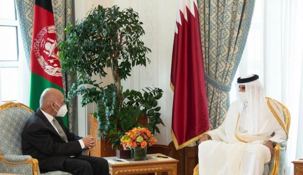 امیر قطر: امیدواریم کوشش های مشترک با افغانستان به صلح منجر گردد
