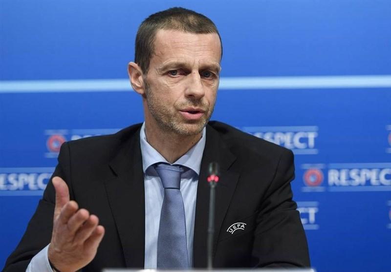 چفرین: احتمال برگزاری جام ملت های اروپا در یک کشور وجود دارد