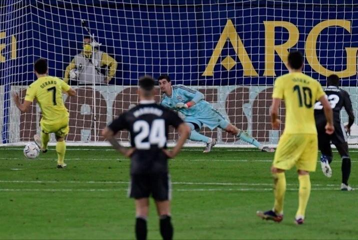 تساوی رئال مادرید مقابل ویارئال