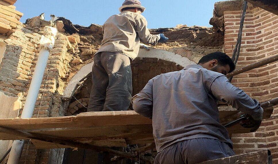 خبرنگاران منزل تاریخی اعتصام الملک آشتیانی بازسازی شد