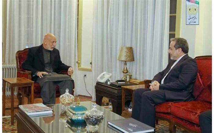 عراقچی با حامد کرزی ملاقات کرد