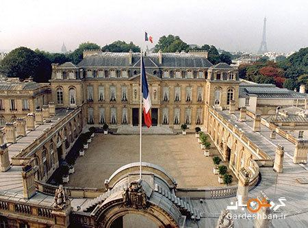 کاخ الیزه پاریس؛ محل اقامت رئیس جمهور فرانسه، عکس