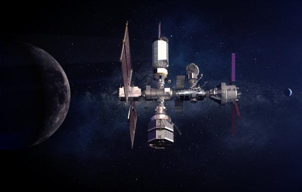 ناسا برای ساخت ایستگاه فضایی در مدار ماه با ژاپن همکاری می نماید